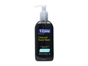 T Zone Charcoal Face Wash