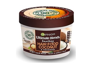 L'Oreal Garnier Ultimate Blends Hair Food Coconut Oil 3-In-1 Frizzy Hair Mask Treatment