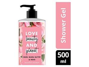Love Beauty Planet Bountiful Moisture Murumuru Butter & Rose Shower Gel
