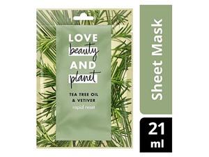 Love Beauty Planet Rapid Detox Face Sheet Mask