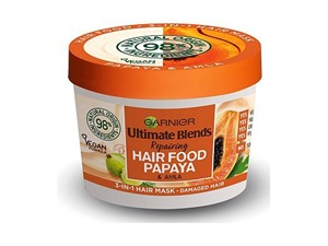Garnier Ultimate Blends Hair Food Papaya 3-In-1 Damaged Hair Mask Treatment