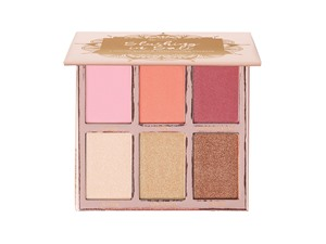 BH Cosmetics Blushing In Bali 6 Color Blush And Highlighter Palette