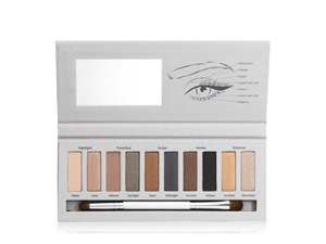 New CID Cosmetics Smokey Classics Palette Smokey Eyeshadow Palette With Brush