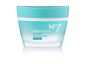 NO7 Hydraluminous Overnight Recovery Cream