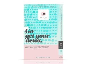 MILU Go Get Your Detox Bubble Foam Sheet Mask 23G