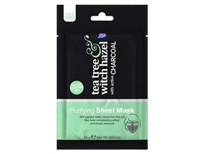 Tea Tree & Witch Hazel Charcoal Purifying Sheet Mask
