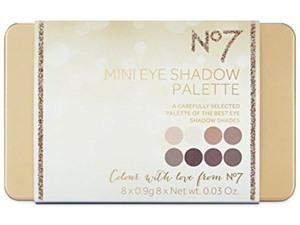 NO7 Mini Eye Palette