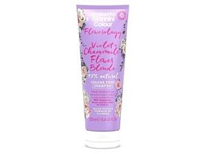 Flowerology Violet + Chamomile Flower Blonde 97% Natural Colour Tone Shampoo