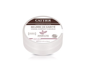 Cattier Organic Sheabutter For Face, Body And Hair