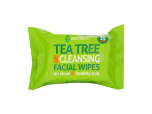 Escenti Tea Tree Daily Cleansing Facial Wipes