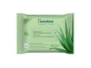 Himalaya Herbals Moisturising Aloe Vera 25 Facial Wipes