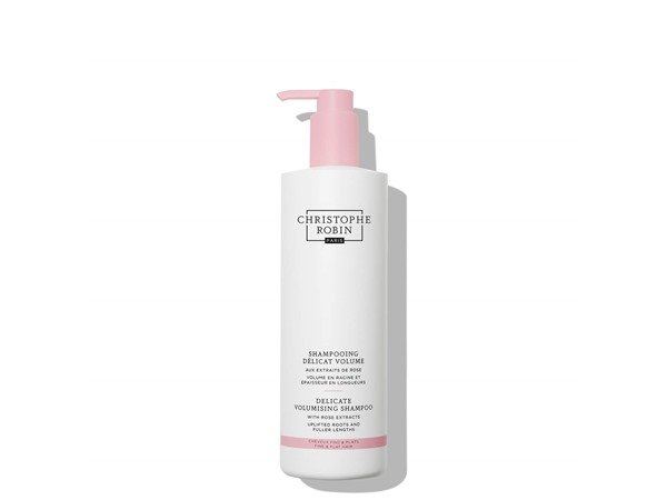 Christophe Robin Delicate Volumising Shampoo With Rose Extracts