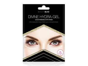 BEAUTY BLVD Divine Hydra Gel Gold Radiance Eye Mask