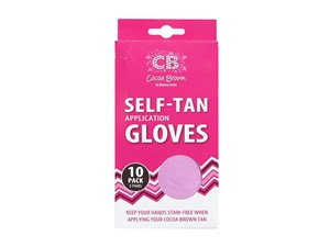 Cocoa Brown Self Tan Application Gloves