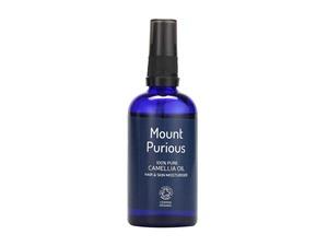 Mount Purious Organic Camellia Oil Skin & Hair Moisturiser