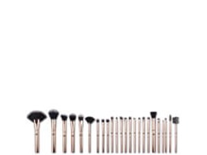 Rio Lush Rose Gold 24 Piece Makeup Brush Collection