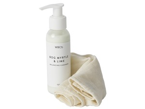 West Barn Co Bog Myrtle And Lime Balancing Cleanser
