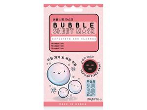 SUGU Bubble Sheet Mask