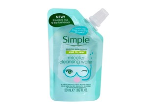 Kind To Skin Micellar Cleansing Water Pouch