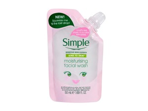 Kind To Skin Moisturising Facial Wash Pouch