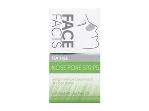 Face Facts Tea Tree Nose Pore Strips