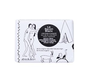 Absolution Le Savon Blanc Face & Body Calming Soap