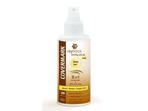 Covermark Rayblock Bodyplus Deep Tan Spf30 Spray