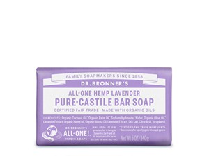 Dr. Bronner All-One Hemp Lavender Pure-Castile Bar Soap