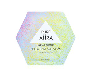 Pure Aura Karma Glitter Hologram Foil Mask Sheet
