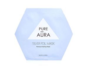 Pure Aura Silver Foil Mask Sheet