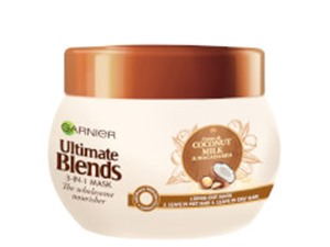 Garnier Ultimate Blends Coconut Milk Dry Hair Treatment Mask