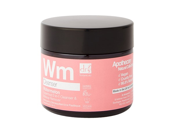 Dr Botanicals Watermelon Superfood 2 In 1 Cleanser & Makeup Remover