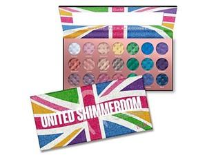 RUDE COSMETICS Rude United Shimmerdom - 21 Shimmer Eyeshadow Palette