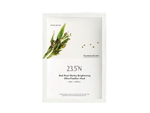 23.5°N Red Pearl Barley Brightening Ultra-Feather Sheet Mask