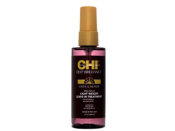 Chi Deep Brilliance Olive & Monoi Shine Serum Lightweight Leave-In Treatment