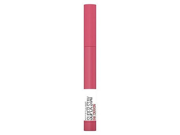 Superstay Matte Ink Crayon Longlasting Pink Lipstick