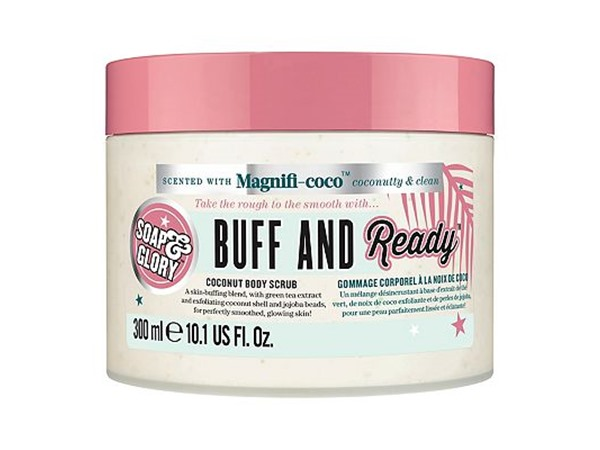 Soap & Glory Buff And Ready Coconut Body Scrub