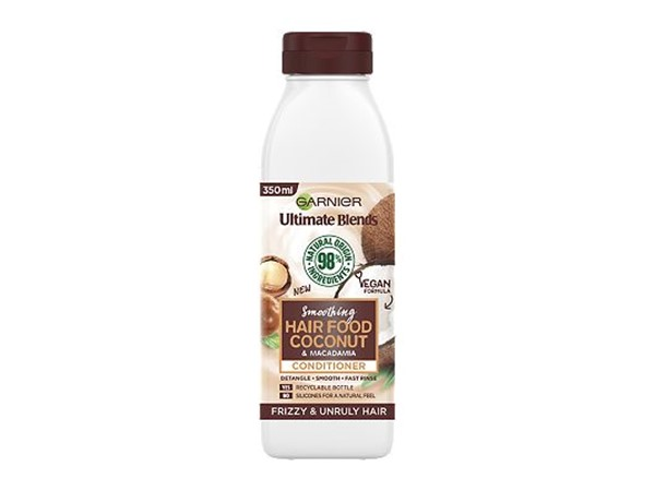 Garnier Ultimate Blends Smoothing Hair Food Coconut Conditioner For Frizzy Hair