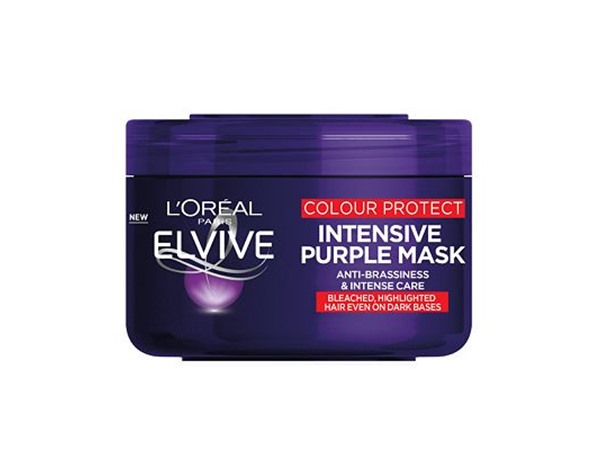 Elvive Colour Protect Anti-Brassiness Purple Mask