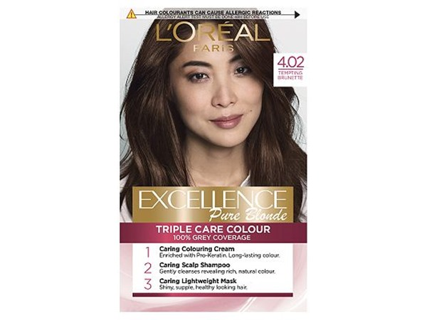 Excellence  Brown Permanent Hair Dye