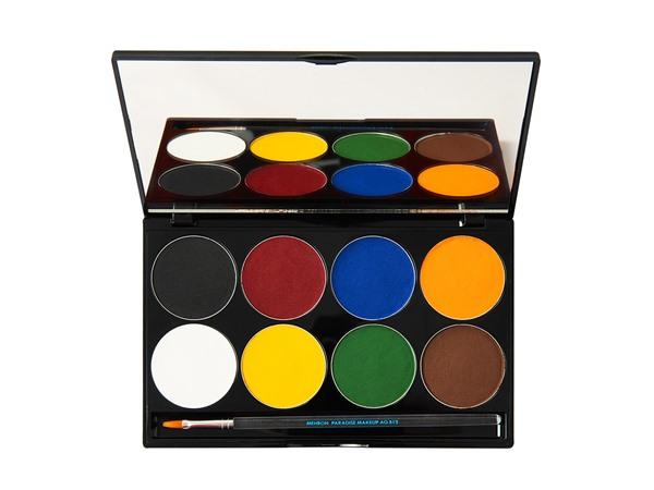 Mehron Paradise Makeup Aq 8 Color Palette Basic