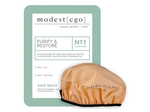 Modest Ego Purifying Hair Mask With Cap