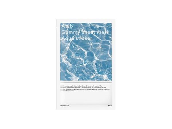 Abib Gummy Sheet Mask Aqua Sticker