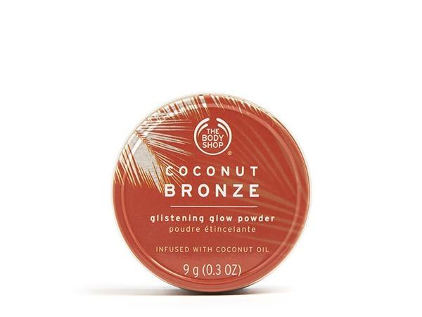 The Body Shop Coconut Bronze Glistening Glow Powder