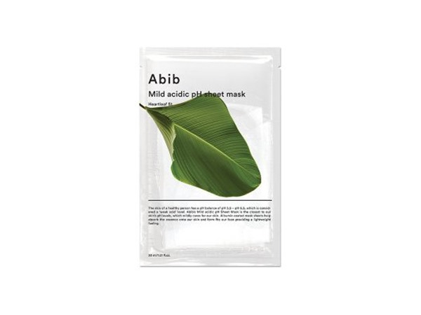Abib Mild Acidic Ph Sheet Mask Heartleaf Fit