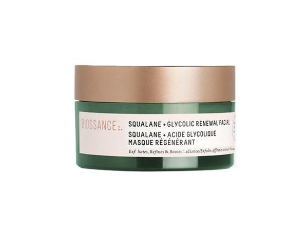 Biossance Squalane + Glycolic Renewal Facial