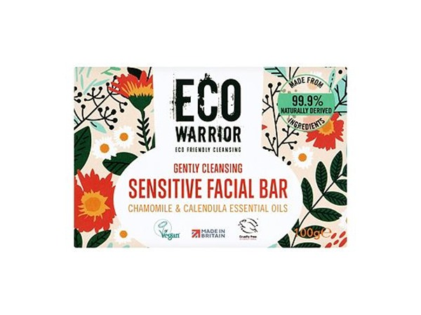 Eco Warrior Gently Cleansing Sensitive Facial Bar