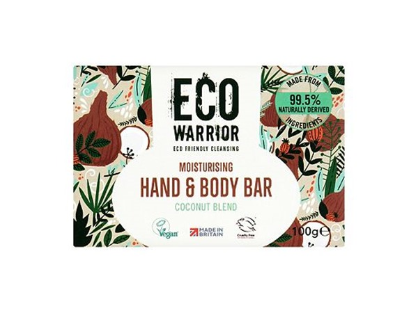 Eco Warrior Moisturising Hand & Body Bar - Coconut Blend