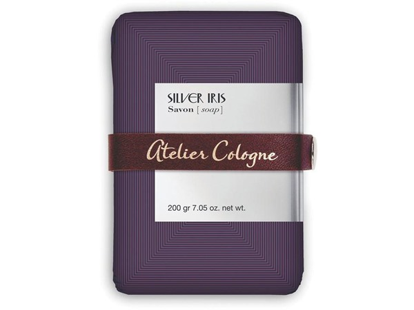 Silver Iris Soap