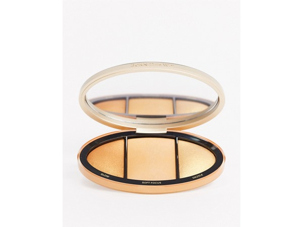 Born This Way Turn Up The Light Skin-Centric Highlighting Palette - Deep To Rich-Brown
